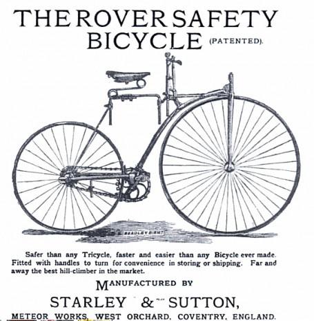 Egy korabeli Rover-hirdetés
