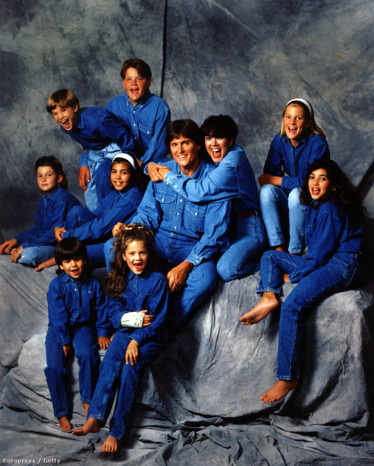 A Kardashian-Jenner család 1991-ben