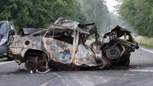 Ketten meghaltak a 37-es főúton egy balesetben