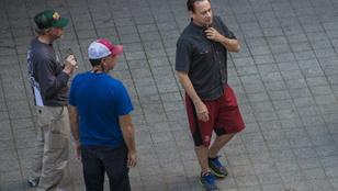 Így forgat Tom Hanks Budapesten