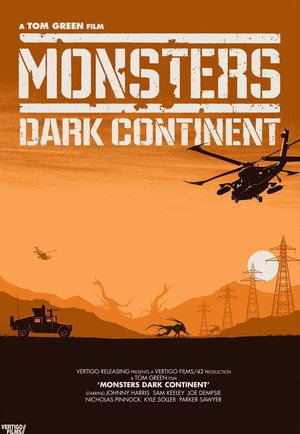 Monsters Dark Continent by Matt Ferguson