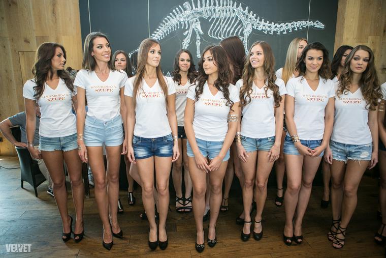 Szóval itt van az a 21 nő, akiknek esélye van Magyarország szépévé válni, és eljutni a kínai Miss Worldre is.