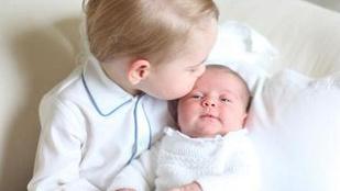 Az első fotók György hercegről és húgáról