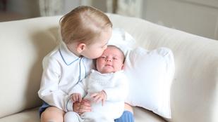 Tessék, itt az összes fotó Charlotte hercegnőről és György hercegről!