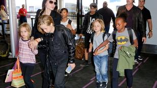 Angelina Jolie és klánja a pórnéppel vegyült