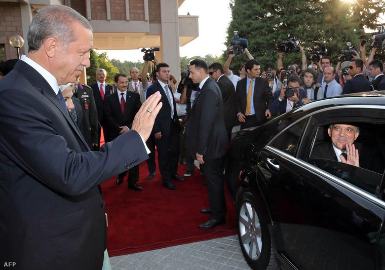 Erdogan és Gül