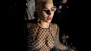 Lady Gaga melleit most tökéletesen megfigyelheti