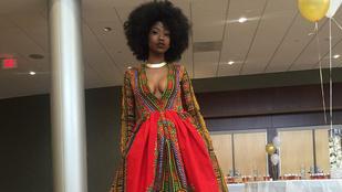 Fura báli ruhájával lett híres az amerikai gimnazista