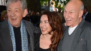 Patrick Stewart Ian McKellennel csókolózott