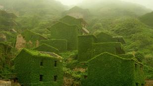 Nézegessen lenyűgöző képeket egy kínai szellemfaluról