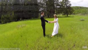 Ezért ne drónnal videózzon az esküvőjén