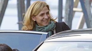 Krisztina spanyol hercegnőt megfosztották a nemesi címétől