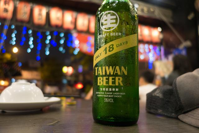Tajvanban szinte csak rendes sör kapható