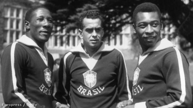Zito Djalma Santosszal és Pelével