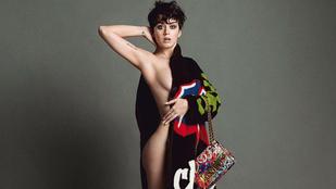 Katy Perryt régen láttuk ennyire meztelenül
