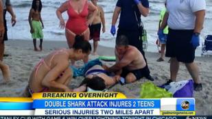Másfél órán belül két gyereket is cápatámadás ért ugyanott