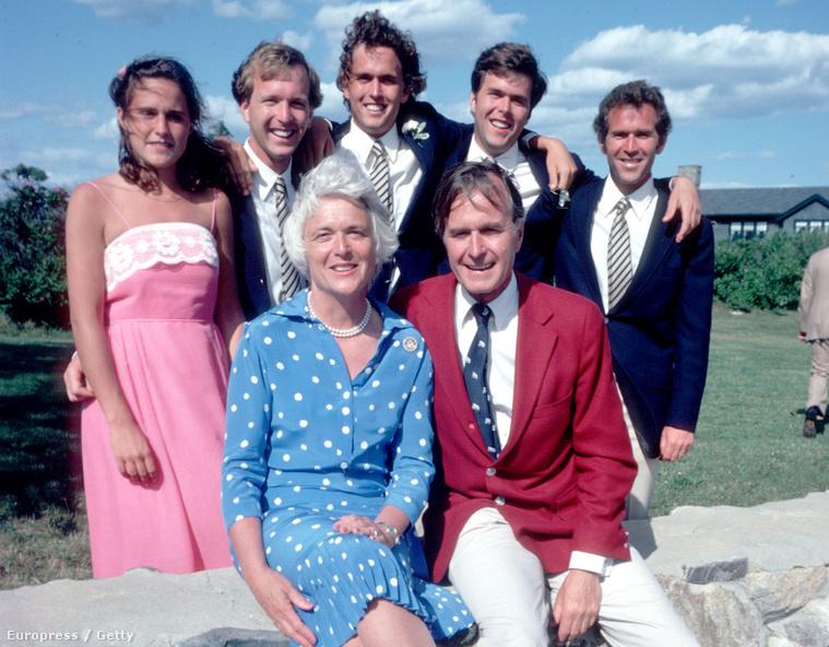 A Bush család 1980-ban