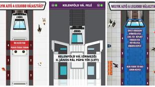 Sosem tudja, hova álljon a metrón? Segítünk!