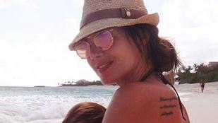 Tamara Ecclestone szoptatós képet osztott meg