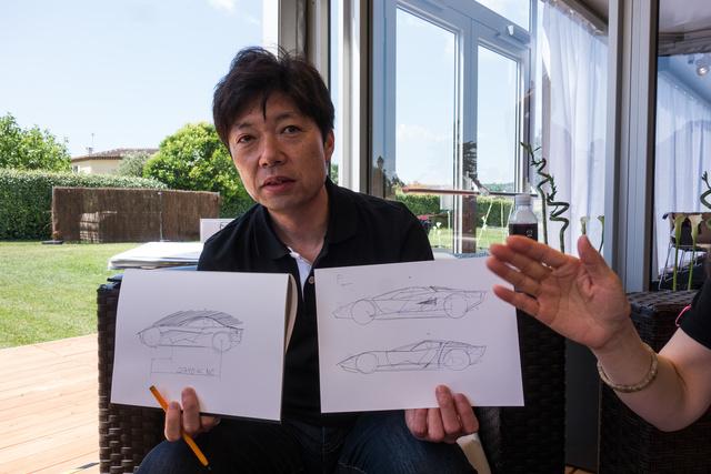 Nakajama Maszasi a pofonegyszerű(nek látszó) vázlatokkal