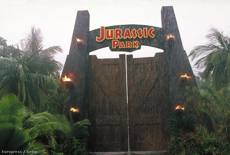 A Jurassic Park bejárata