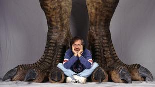 Egészen ritka képek az 1993-as Jurassic Park forgatásáról