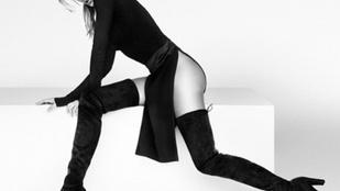 Bugyi nélkül fotózták a végtelenül hosszú lábú Gisele Bündchent