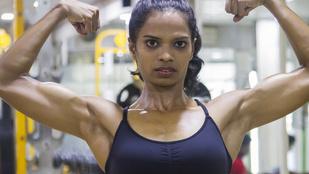 Az indiai fitneszmodell túlsúlyos volt, és boldogtalan