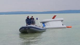 Katamaránt és utasait mentették Balatonföldvárnál