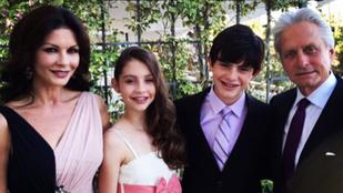 Catherine Zeta-Jones családi élete nagyon harmonikus