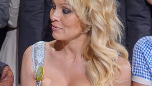 Pamela Anderson felpolcolt mellekkel csodálkozott rá egy csupasz seggre