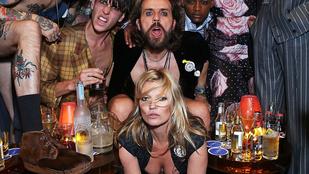 A hét bulijai: Kate Moss négykézláb áldugatta magát