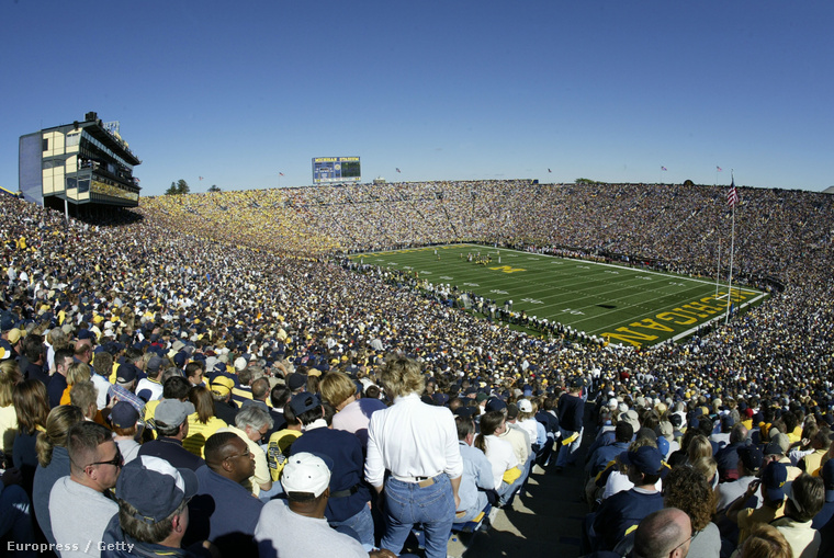 Elég gyakran megtelik a Michigan stadionja