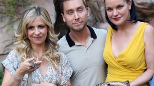 Sarah Michelle Gellar a kígyót, az 'N Sync énekese a papagájt nem bírja