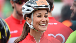 Pippa Middletont biciklis sisakban látta már?