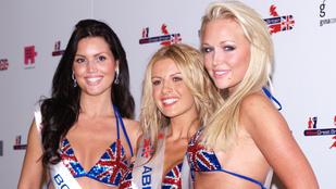 Szexképekkel fenyegetik az egykori brit szépségkirálynőt