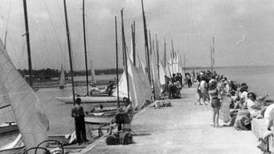 Ilyen volt a Balaton az 50-es években