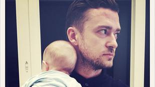 Apák napja: Justin Timberlake és a fia<3