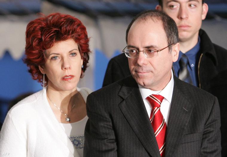 Judy Salom Nir Mózesz és Szilván Salom belügyminiszter