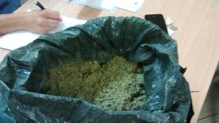 Egy kiló droggal vonatozott a nyíregyházi férfi