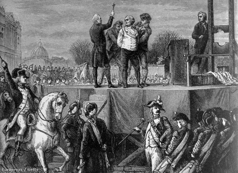 XVI. Lajos kivégzése