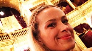 Budapesten van a szupermodell Petra Nemcova