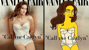 Caitlyn (Bruce) Jenner így nézne ki a Simpsons családban