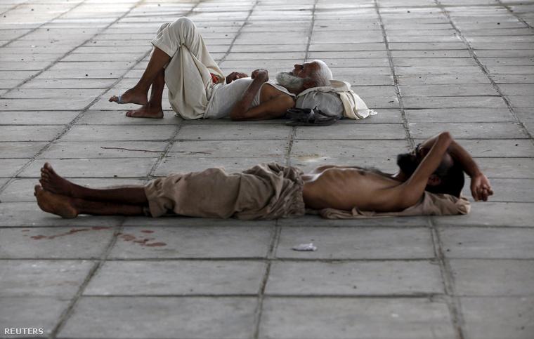 Embertelen hőség van Karacsiban