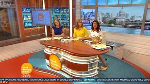 Élő adásban próbálta eltüntetni reggelijét a műsorvezető