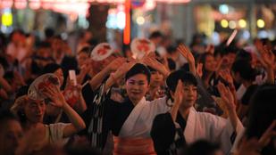 67 év után újra táncolhatnak a japánok