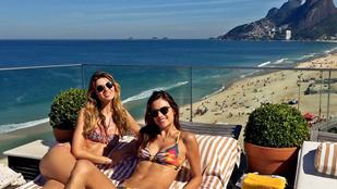 Alessandra Ambrosio átvette a brazil életérzést