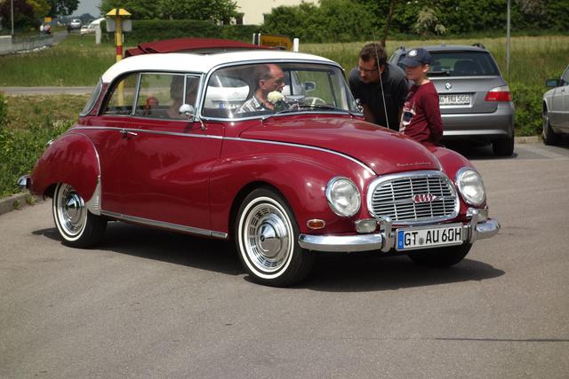 Az isteni Auto-Union 1000 de Luxe