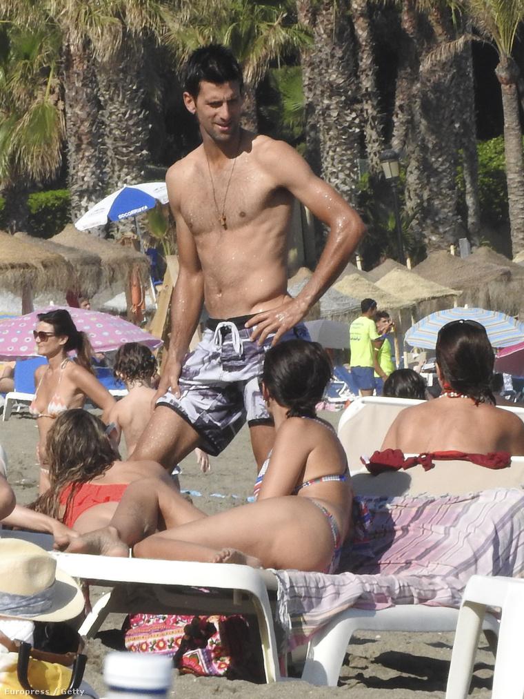 Novak Djokovics Marbellában