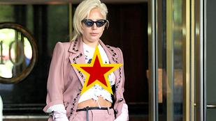 Lady Gaga most nem bimbójával, hanem pólójával verte ki a biztosítékot